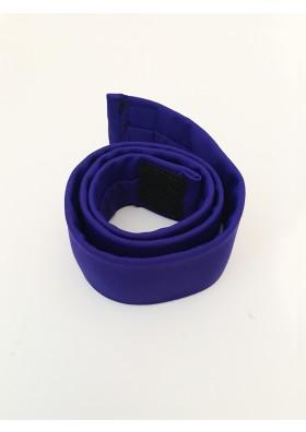 Belt in SAPPHIRE with BLACK VELCRO fastening