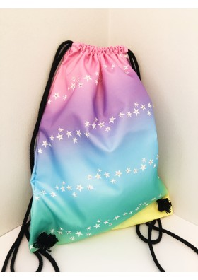 Rainbow Star Ombre Kit Bag